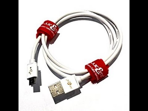 JuicEBitz®  24AWG Micro USB  Charger Cable (Review/Test)