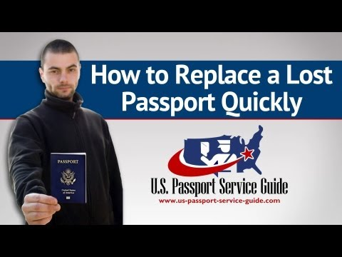 How to Replace a Lost Passport Quickly