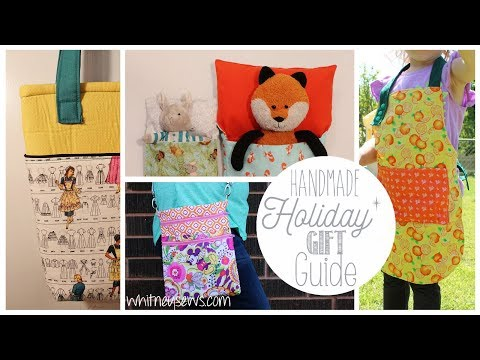 Handmade Holiday Gift Guide 2017 | Whitney Sews
