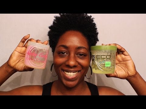 The WashnGo Experience  Kinky Curly vs EcoStyler (Tapered Natural Hair)