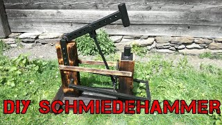 How to Make a Foot Powered Power hammer (Treadle Hammer