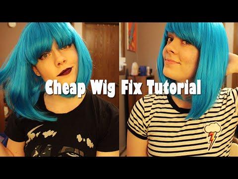 Cheap Wig Fix Tutorial