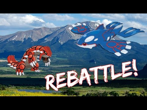 How to Rebattle Kyogre & Groudon in Pokemon Omega Ruby and Alpha Sapphire? - ORAS!