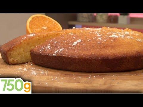 Recette de Gâteau à l'orange - 750 Grammes