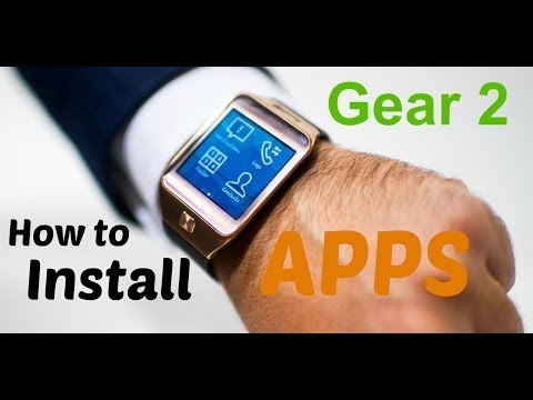 Samsung Gear 2 How to Install APPS Quick Tutorial!