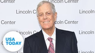 Billionaire David Koch of Koch brothers dies at 79 | USA TODAY