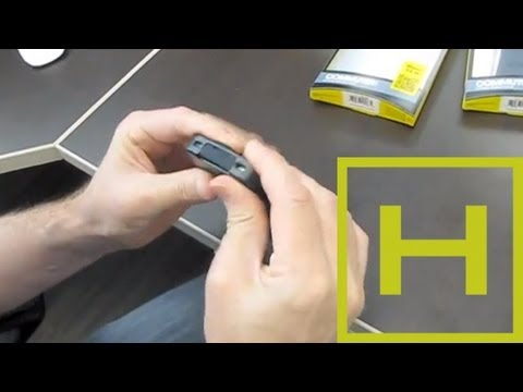 How to put the Otterbox Commuter case on the iPhone 4s & iPhone 5c Properly