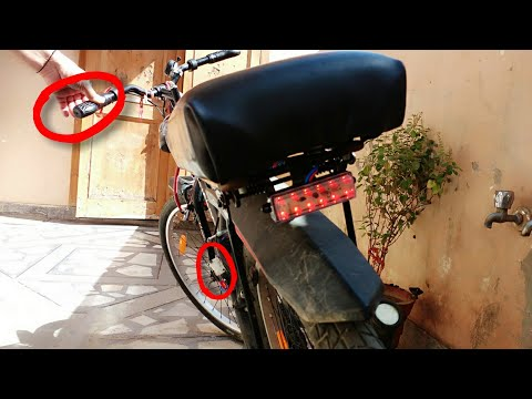 How To Make Cycle Brake Light At Home