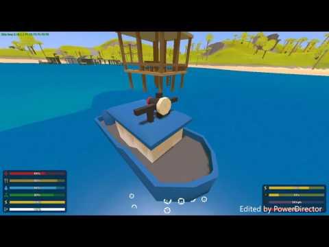 Unturned- Hawaii Fishing Boat Roleplay!- Ep. 1
