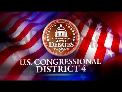 U.S. Congressional District 4 (Election 2016: AETN Debates)