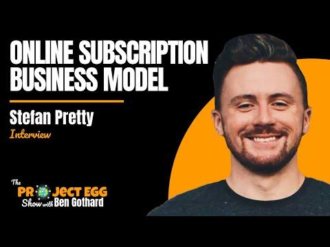 Stefan Pretty: Online Subscription Businesses Model