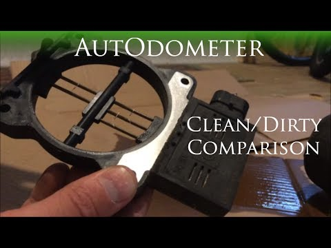 How to clean a Mass Air Flow Sensor || 1997 Chevy Lumina