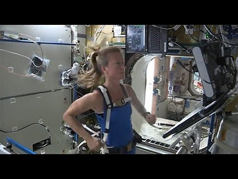 Running in Space!