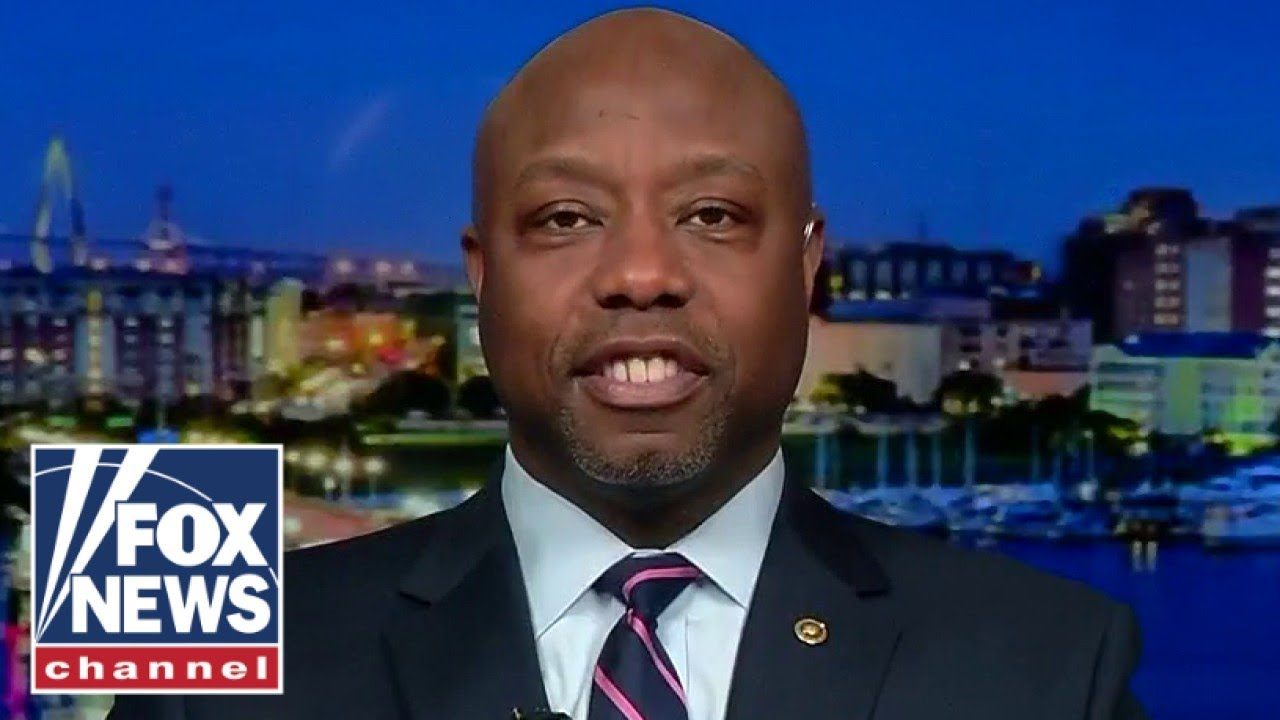 Tim Scott fires back at MSNBC host's disparaging comments about his race