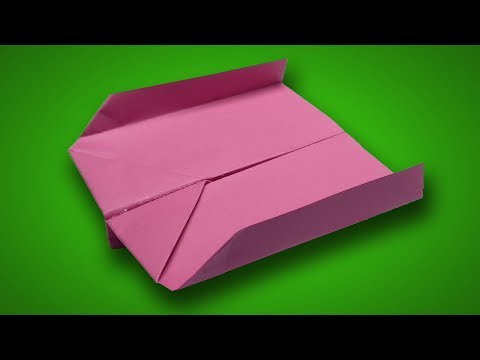 How to make a paper Boomerang plane comes back to you