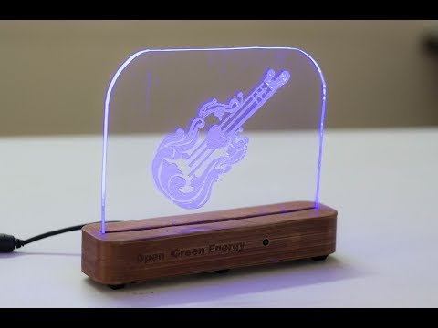 How to Make an Acrylic RGB LED Sign