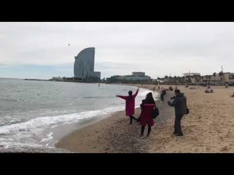 Barcelonetta Beach March 2018