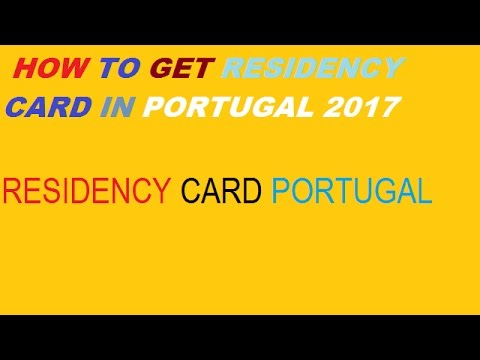 How To Get Residency Card In Portugal || Portugal Immigration 2017 ||  Portugal Immigration ||