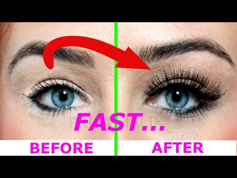 How To Grow Long,Thick, Strong Eyelashes Naturally and FAST || Priya Malik