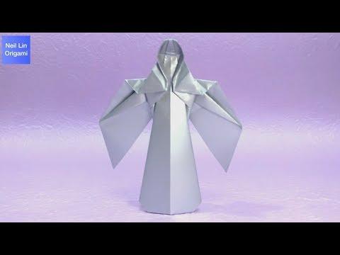 Origami angel tutorial 摺紙天使教學