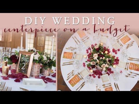 DIY Wedding Centerpiece on a Budget (Part 2)