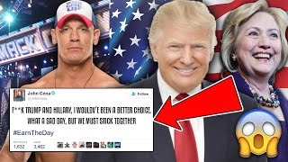 WWE SUPERSTARS REACT TO THE PRESIDENTIAL ELECTION RESULTS