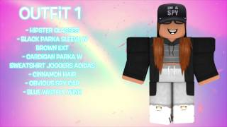 16 Girl Outfits on Roblox Pt. 2 **OLD MADE IN 2016** | Music Jinni