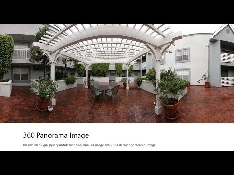 360° Panorama Image with jQuery
