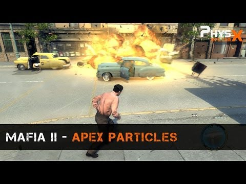 APEX PhysX in Mafia II: Particles