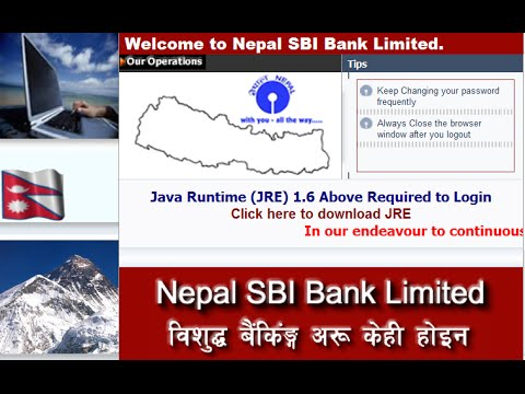 Nepal sbi online Banking login Guide