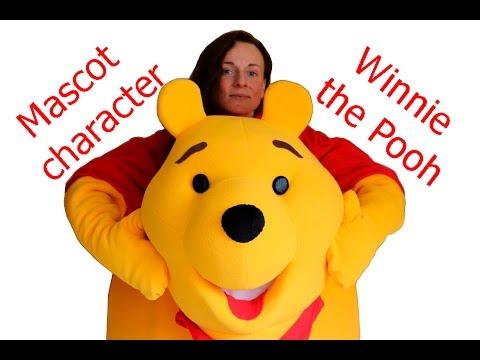 Mascot costume  Winnie-The-Pooh. Hi, I'm mascot maker!