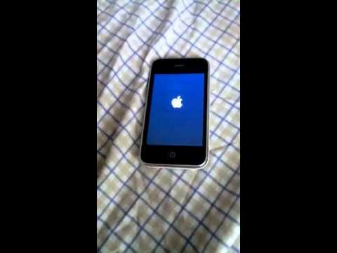 iphone 3gs white screen when locked ...help please and thnx