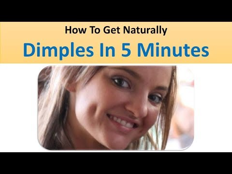 How To Get Dimples Naturally In 5 Minutes