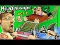 ESCAPE HELLO NEIGHBOR PRISON FGTEEV ACT 2 Roller Coaster Shark Doll House Full Game Part 3