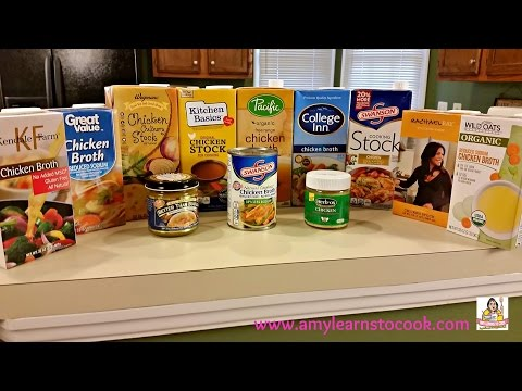 Eric's Chicken Broth Showdown - Taste Test and Review
