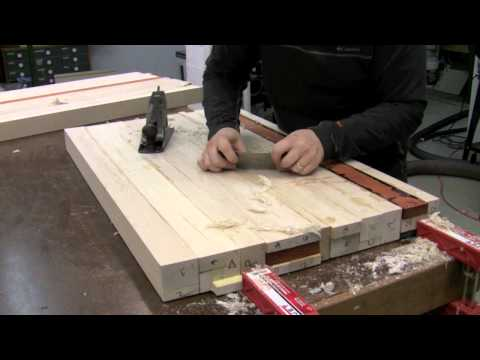 Butcher Block Countertop - Glue Up