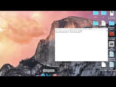Change default screenshot location on a mac (Yosemite)