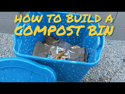 DIY | How To Build A Composter - Gardening Tips