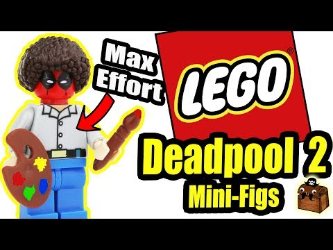 Deadpool 2 LEGO Custom Minifigures 2018