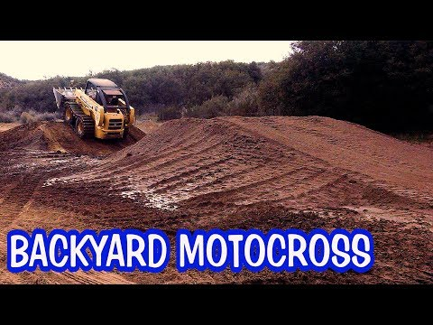 Build your own backyard motocross track - introducing my playground.