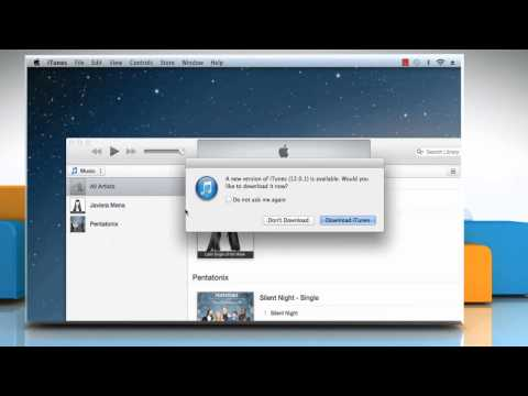 How to update to the latest version of iTunes®