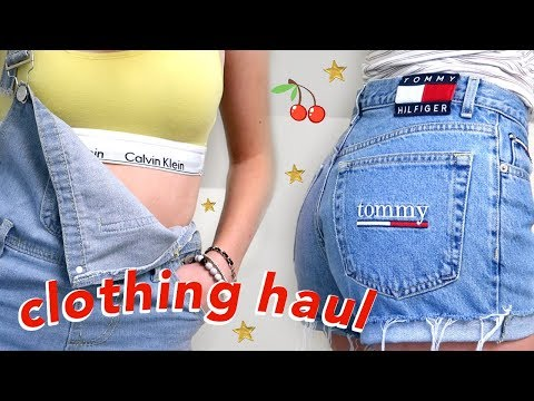 Trendy Clothing Try-on Haul | tommy hilfiger, calvin klein, urban outfitters