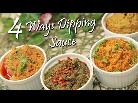 How to make Dipping Sauce 4 Ways