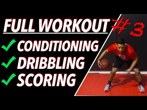 How To: Get Tighter Handles | Full Basketball Workout #3 | Pro Training Basketball