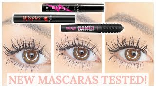BATTLE OF THE NEW MASCARAS - BENEFIT BAD GAL BANG, NYX WORTH THE HYPE | Beauty