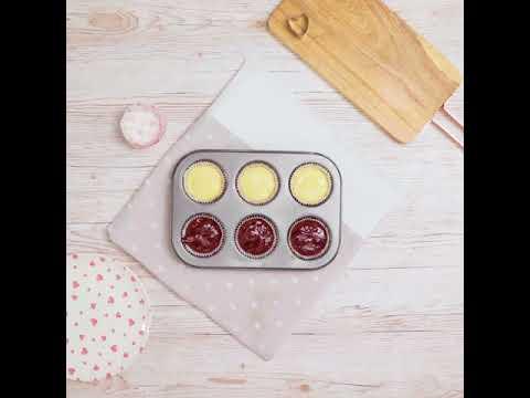 Easy Valentine's Cupcakes