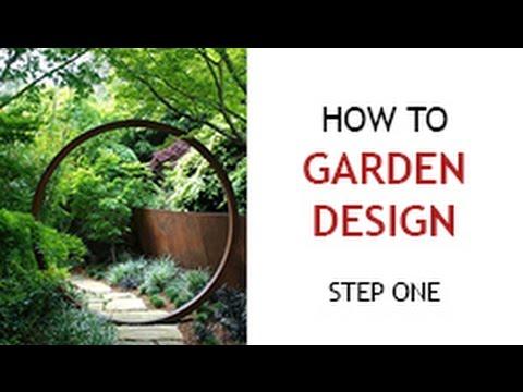 Step 1 - How to Design a Backyard Garden