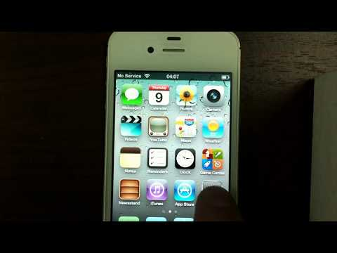 Activate & unlock iphone 4s ios 5 & ios 6 without original sim card by X-SIM