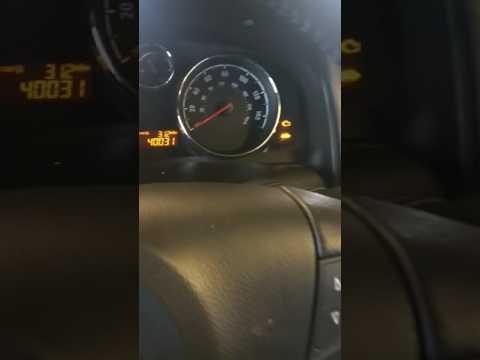 Vauxhall Antara reset service lights