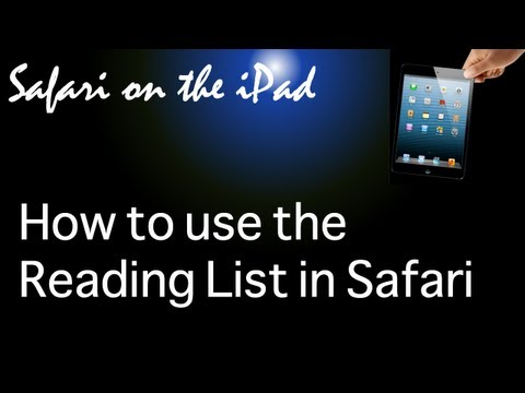 How to use the Reading List in Safari on the iPad